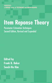 Item Response Theory: Parameter Estimation Techniques, Second Edition