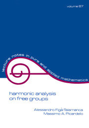 Harmonic Analysis on Free Groups - 1st Edition book cover