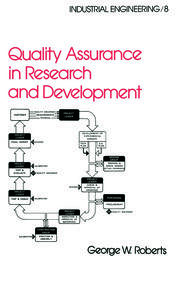 Quality Assurance in Research and Development - 1st Edition book cover
