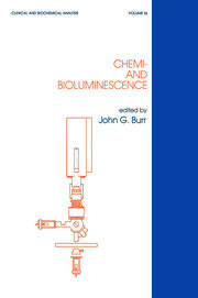 Chemi- and Bioluminescence - 1st Edition book cover