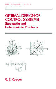 Optimal Design of Control Systems - 1st Edition book cover