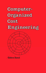Computer-Organized Cost Engineering - 1st Edition book cover