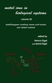 Metal Ions in Biological Systems: Volume 30: Metalloenzymes Involving Amino Acid-residue and Related Radicals