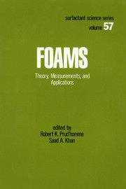 Foams - 1st Edition book cover