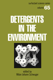 Detergents and the Environment - 1st Edition book cover