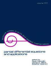 partial differential equations and applications - 1st Edition book cover