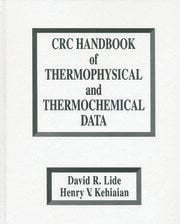 CRC Handbook of Thermophysical and Thermochemical Data