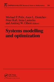 Systems Modelling and Optimization Proceedings of the 18th IFIP TC7 Conference