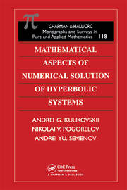 Mathematical Aspects of Numerical Solution of Hyperbolic Systems
