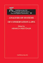 Analysis of Systems of Conservation Laws