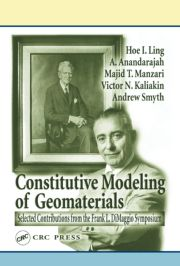 Frank L. Di Maggio Symposium on Constitutive Modeling of Geomaterials June 3-5 2002