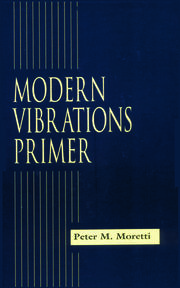 Modern Vibrations Primer - 1st Edition book cover