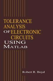 Tolerance Analysis of Electronic Circuits Using MATLAB