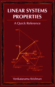 Linear Systems Properties - 1st Edition book cover
