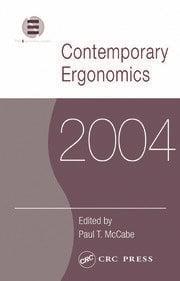 Contemporary Ergonomics 2004 - 1st Edition book cover