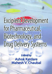 Excipient Development for Pharmaceutical, Biotechnology, and Drug Delivery Systems - 1st Edition book cover