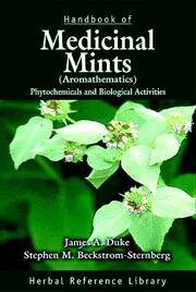 Handbook of Medicinal Mints ( Aromathematics): Phytochemicals and Biological Activities, Herbal Reference Library