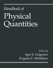 Handbook of Physical Quantities