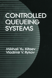 Controlled Queueing Systems - 1st Edition book cover