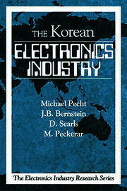 The Korean Electronics Industry