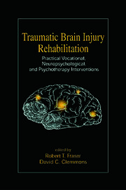Traumatic Brain Injury Rehabilitation: Practical Vocational, Neuropsychological, and Psychotherapy Interventions