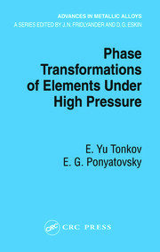 Phase Transformations of Elements Under High Pressure