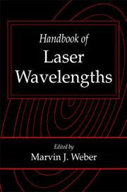 Handbook of Laser Wavelengths - 1st Edition book cover