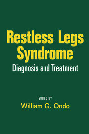 Restless Legs Syndrome: Diagnosis and Treatment