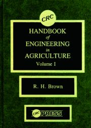 CRC Handbook of Engineering in Agriculture, Volume I - 1st Edition book cover