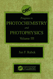 Photochemistry and Photophysics, Volume III