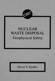 Nuclear Waste Disposal - 1st Edition book cover