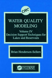 Water Quality Modeling - 1st Edition book cover