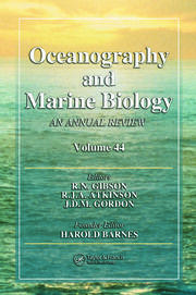 Oceanography and Marine Biology - 1st Edition book cover