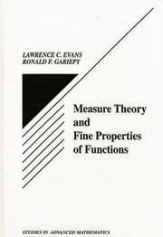 Measure Theory and Fine Properties of Functions