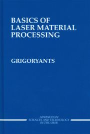 Basics of Laser Material Processing