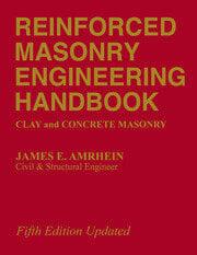 Reinforced Masonry Engineering Handbook - 5th Edition book cover