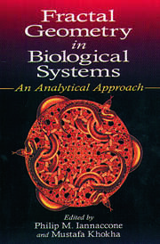 Fractal Geometry in Biological Systems: An Analytical Approach