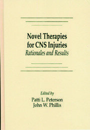 Novel Therapies for CNS Injuries: Rationales and Results