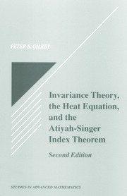 Invariance Theory - 1st Edition book cover