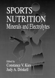 Sports Nutrition - 1st Edition book cover