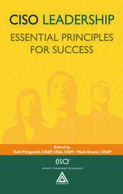 CISO Leadership: Essential Principles for Success