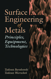 Surface Engineering of Metals: Principles, Equipment, Technologies