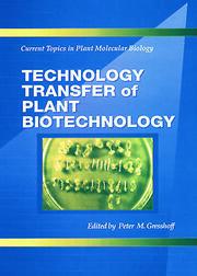 Technology Transfer of Plant Biotechnology