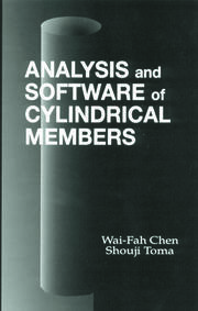 Analysis and Software of Cylindrical Members - 1st Edition book cover