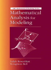 Mathematical Analysis for Modeling
