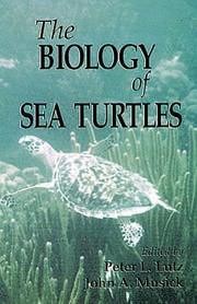 The Biology of Sea Turtles, Volume I
