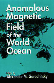 Anomalous Magnetic Field of the World Ocean