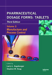 Pharmaceutical Dosage Forms - Tablets - 3rd Edition book cover