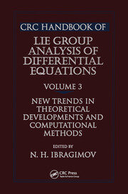 CRC Handbook of Lie Group Analysis of Differential Equations, Volume III