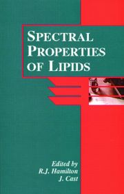 Spectral Properties of Lipids - 1st Edition book cover